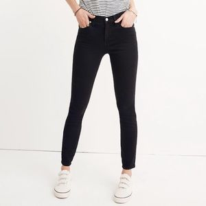 """Madewell 9"""" Rise Skinny Jeans in Lunar Wash"""